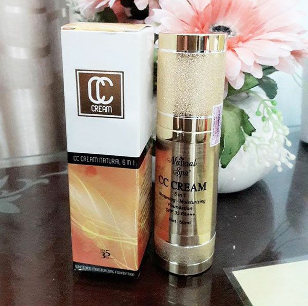 CC Cream Natural Spa 6 in 1