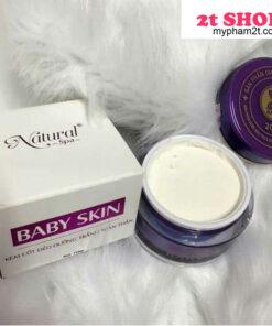 Baby skin Natural Spa kem dưỡng trắng da toàn thân