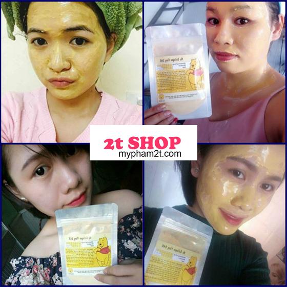 Review mặt nạ vàng 24k gold mask