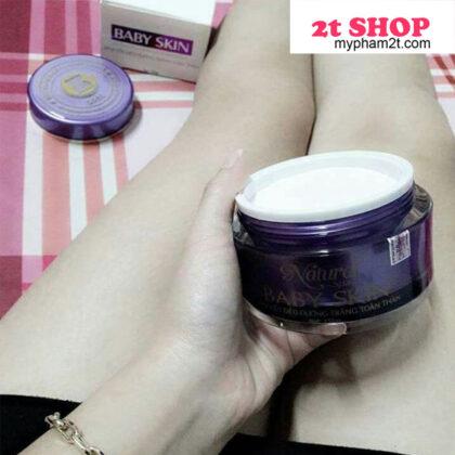 Review kem Baby Skin Natural Spa