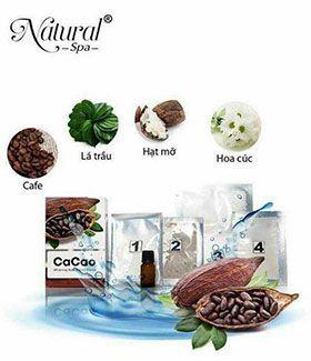 Tắm trắng cacao Natural Spa