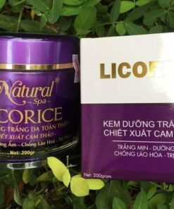 Kem body Licorice Natural Spa