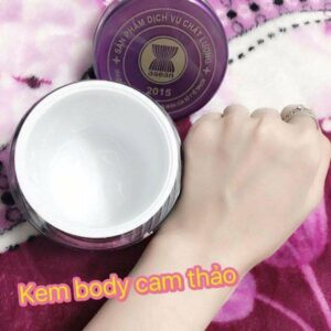 Kem body Licorice Natural Spa