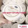 kem body vip siêu trắng Whitening