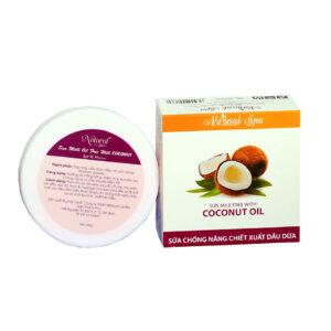 kem chống nắng chiếc suất dầu dừa coconut natural spa