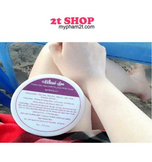 kem chống nắng chiếc xuất dầu dừa an toàn cho da