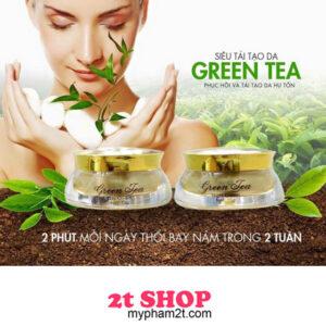 Kem trị nám tái tạo da green tea