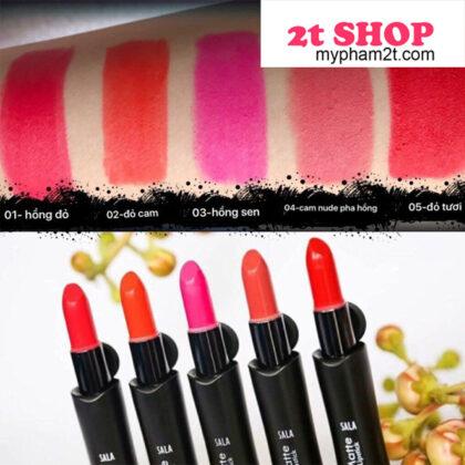 Son sala matte Lipstick đủ màu