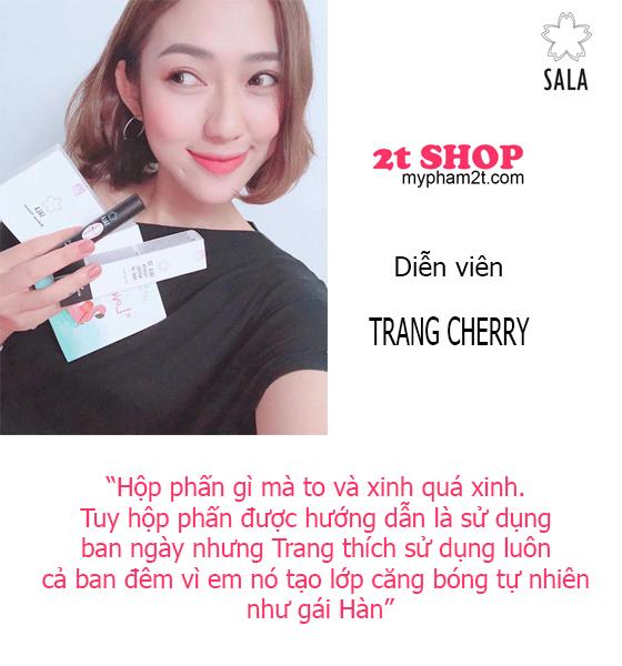 Diễn viên Trang Cherry nhận xét về sala sunny tension