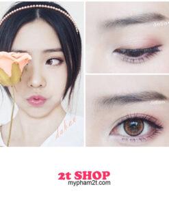 Trang điểm mắt màu hồng paster